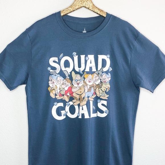 f5523369af8b9 Disney Shirts | Parks Seven Dwarfs Squad Goals Tshirt | Poshmark